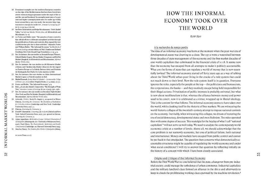 Informal Market Worlds - Reader
