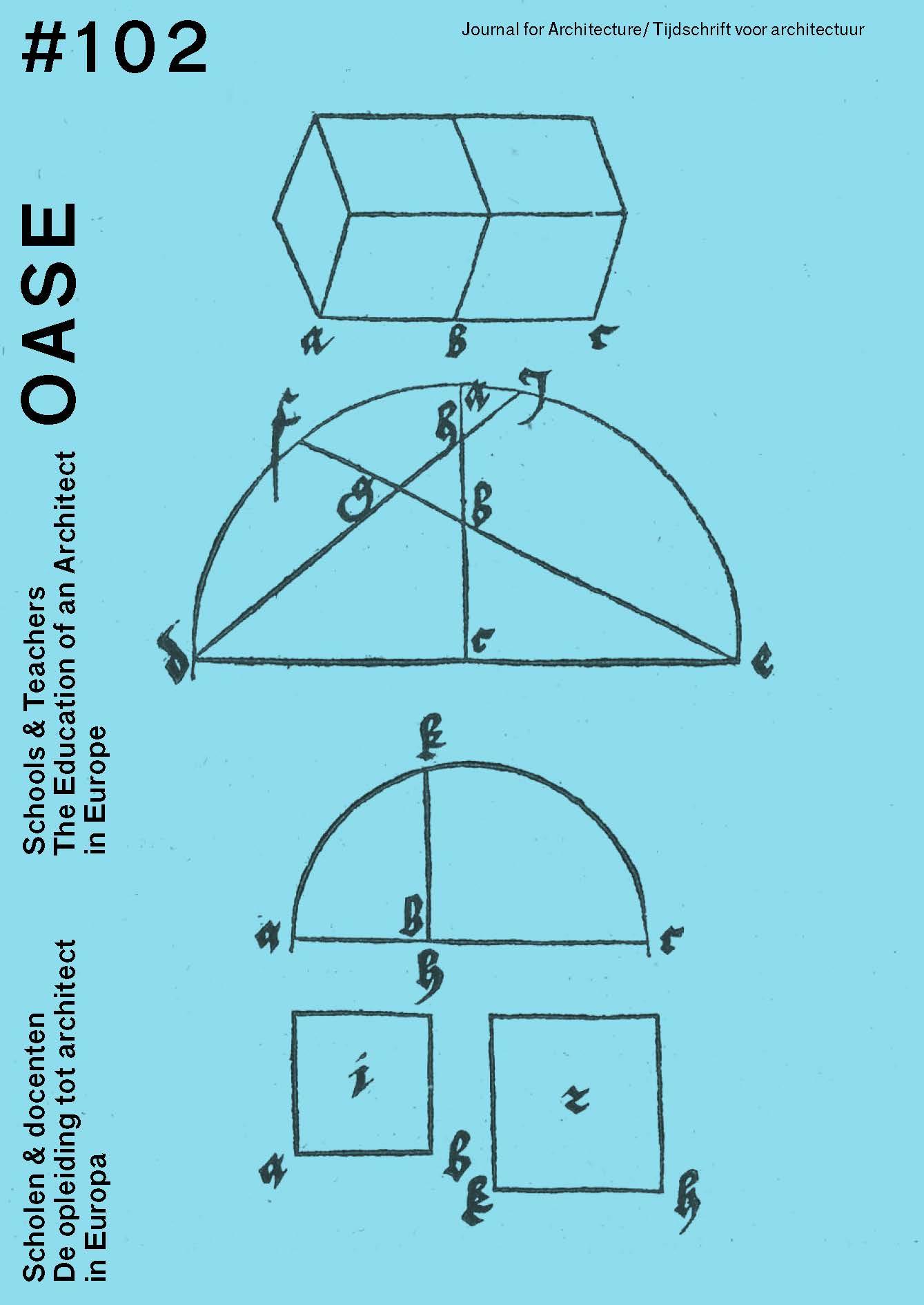 OASE 102 Scholen & docenten / Schools & Teachers (e-book)